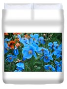 Blue After The Rain Duvet Cover
