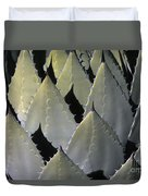 Blue Agave Cactus Duvet Cover