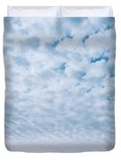 Blue And Amber Duvet Cover