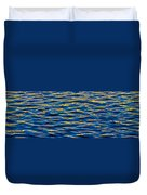 Blue And Gold Duvet Cover