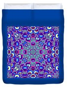 Blue And Pink Wallpaper Fractal 71 Duvet Cover