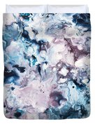 Blue And Purple Duvet Cover