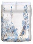 Blue And White Art - Ice Castles - Sharon Cummings Duvet Cover