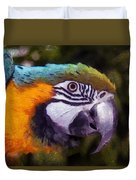 Blue-and-yellow Macaw Duvet Cover