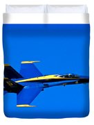 Blue Angel Fly By Duvet Cover