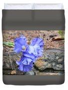 Blue Angel - Iris Duvet Cover