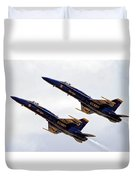 Blue Angels Iv Duvet Cover