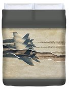 Blue Angels Rip Duvet Cover