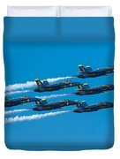 Blue Angels Duvet Cover