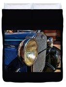 Blue Antique Auto Duvet Cover