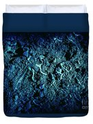 Blue Archaeology Duvet Cover
