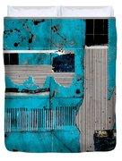 Blue Bag Ditty  Duvet Cover
