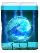 Blue Ball Duvet Cover