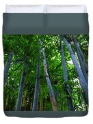 Blue Bamboo Duvet Cover