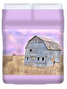 Blue Barn Duvet Cover