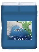 Blue Bayou Duvet Cover