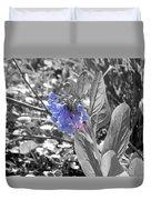 Blue Bell Flower Duvet Cover