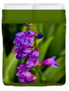 Blue Bells Wild Flower Duvet Cover