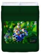 Blue Berries  Duvet Cover