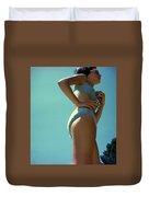 Blue Bikini Sixty Two Duvet Cover
