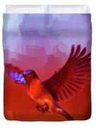 Blue Bird 01  Duvet Cover