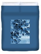 Blue Blossoms Duvet Cover