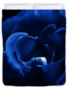 Blue Blue Rose Duvet Cover