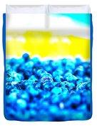 Blue Blur Duvet Cover