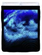 Blue Bubbles Duvet Cover