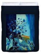 Blue Bunch 45 Duvet Cover