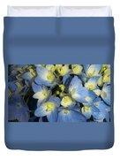 Blue Butterflies Duvet Cover