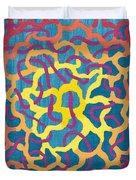 Blue Canvas #1 Duvet Cover