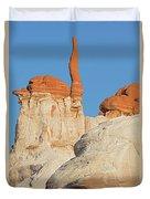 Blue Canyon Finger V Duvet Cover