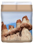 Blue Canyon Wall Duvet Cover