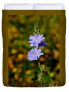 Blue Chicory 2 Duvet Cover