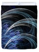 Blue Claws Duvet Cover
