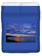 Blue Clouds Duvet Cover