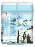 Blue Collage Duvet Cover