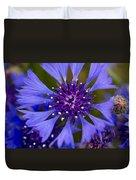 Blue Cornflower Duvet Cover