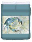 Blue Crab. Duvet Cover