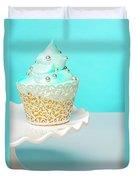 Blue Cupcake Duvet Cover