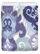 Blue Curry I Duvet Cover by Mindy Sommers