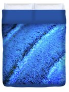 Blue Curves Duvet Cover by Todd Blanchard