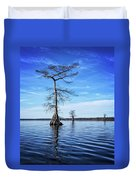 Blue Cypress Duvet Cover