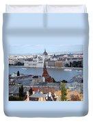 Blue Danube Duvet Cover