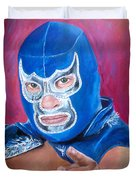 Blue Demon Duvet Cover