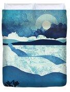 Blue Desert Duvet Cover
