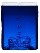 Blue Drop Duvet Cover