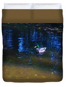 Blue Duck Duvet Cover