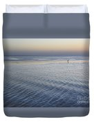 Evening Blue Duvet Cover